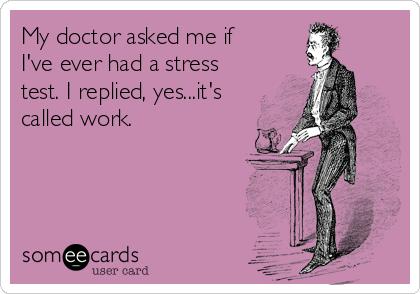 Stress ecard