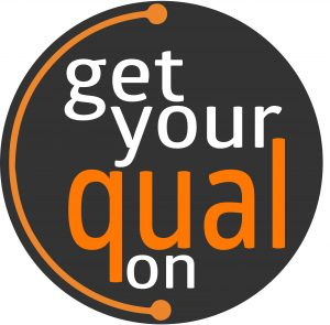 Get Your Qual On Logo